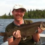 Wabus Lake - Lake Trout 2014